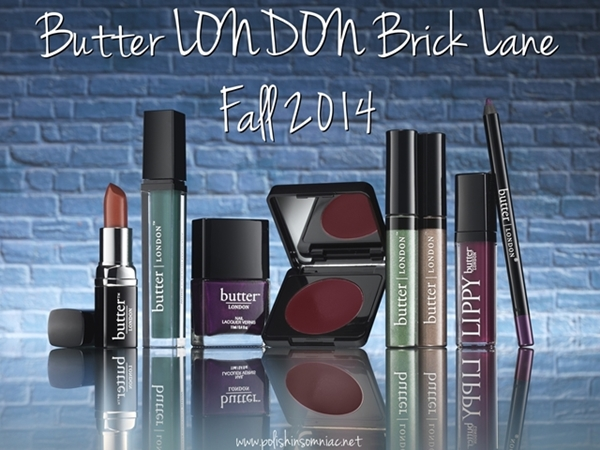 butter LONDON Brick Lane Collection for Fall 2014