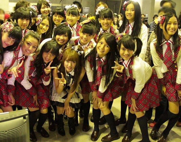 Foto Konser Pertama JKT48 di AKB48 Jepang