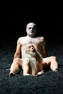 Christopher Purves, John Graham-Hall - Handel's Saul at Glyndebourne, photo Bill Cooper