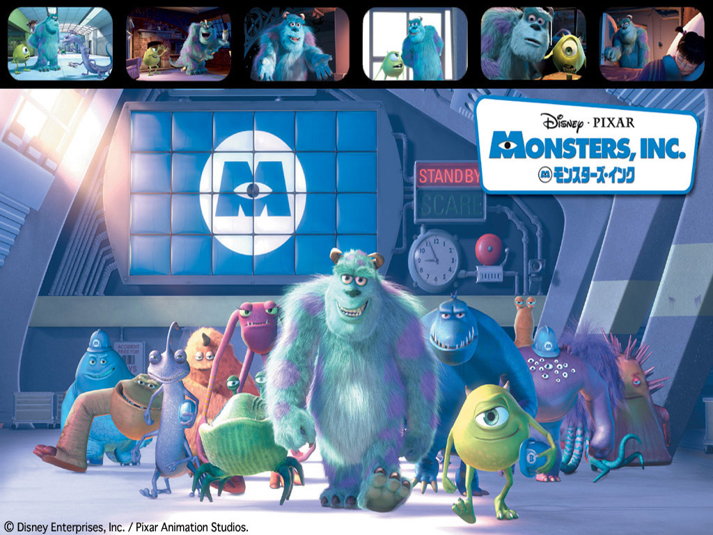 the monsters of Monsters, Inc. animatedfilmreviews.filminspector.com