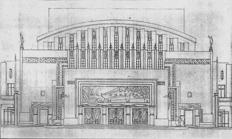 Front Elevation Definition Theatre : Arquitectura manila metropolitan theater