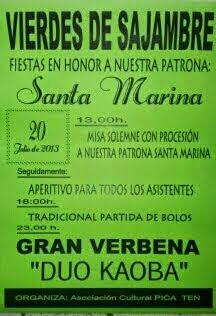 Fiesta de Santa Marina