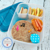 My Epicurean Adventures: Lunch Box Fun 2015-16: Week #17-18. Lunch box ideas, school lunch ideas, lunches, sandwich
