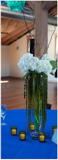Elegant wedding centerpieces on a budget
