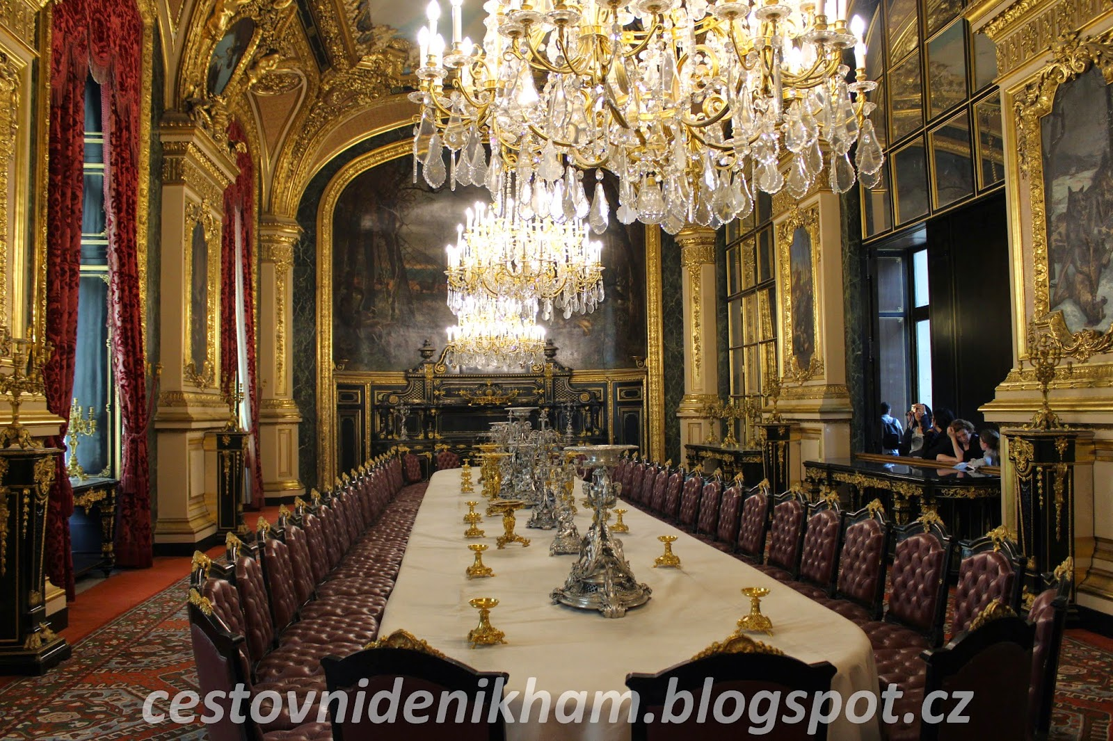 Napoleon´s chambers (Louvre)