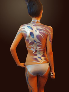 Art Body Painting Pics Model