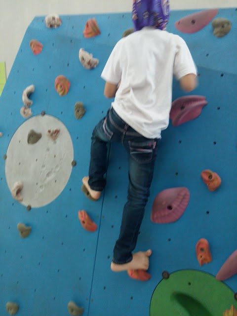 Kids Wall Climbing at Putrajaya Challenge Park