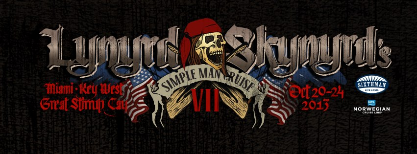 l s to headline simple man cruise 7 this fall skynyrd. Black Bedroom Furniture Sets. Home Design Ideas