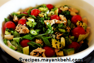 asian-tuna-salad recipe