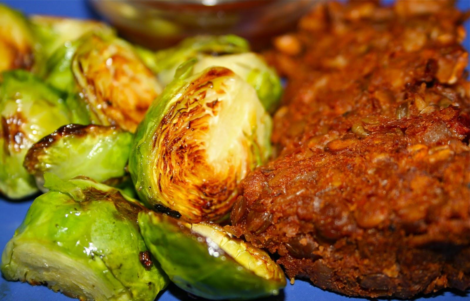 """devour: Vegan Lentil & Sweet Potato """"Meat Loaf"""""""