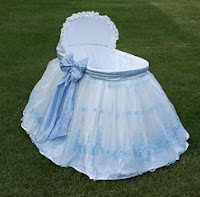bassinet bedding sample