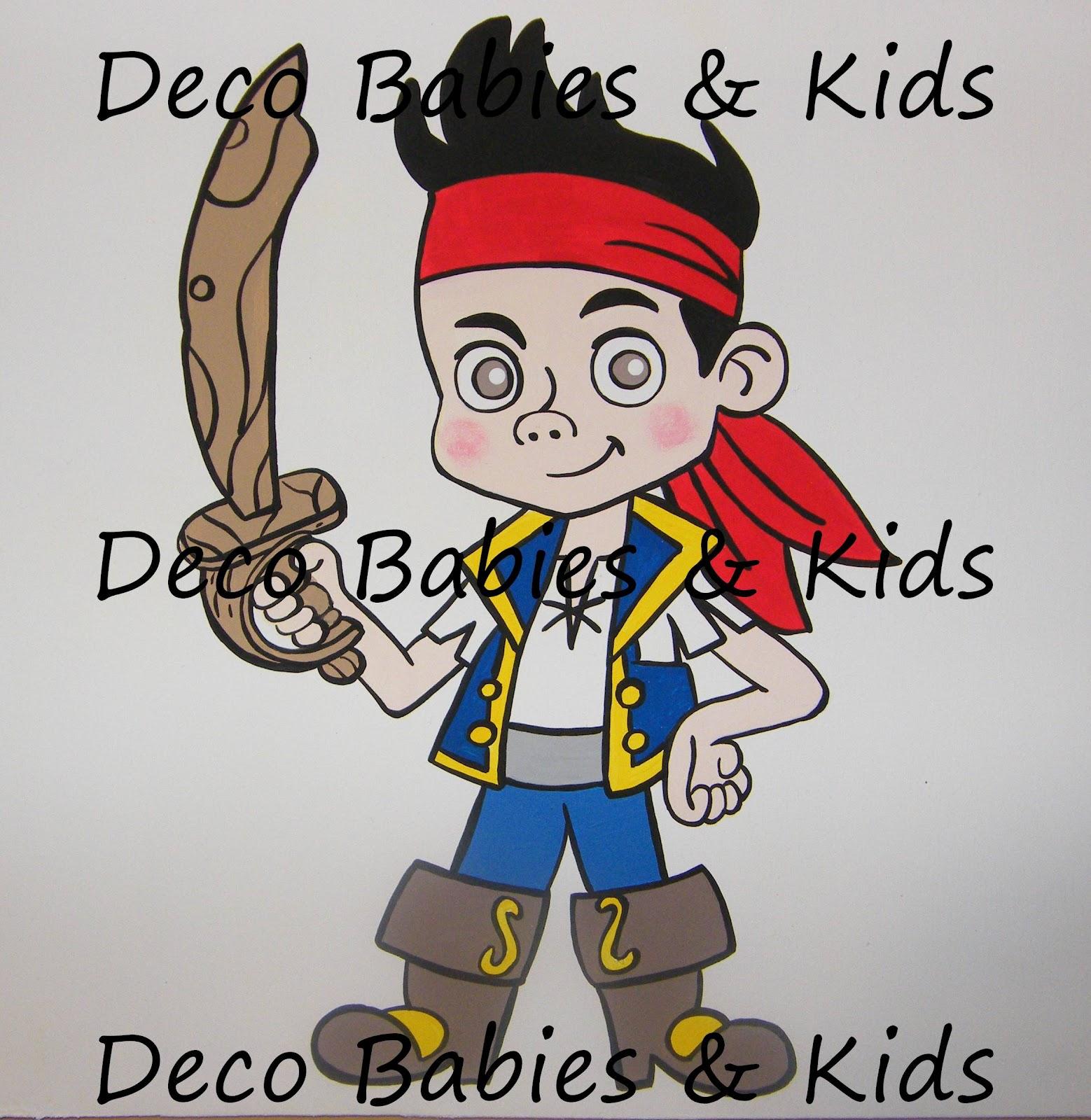 Cuadrados Pintados Para Aplicar Jake Y Los Piratas