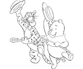 #5 Winnie The Pooh Coloring Page