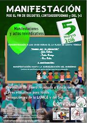 5-M: Jornada Reivindicación Escuela Pública