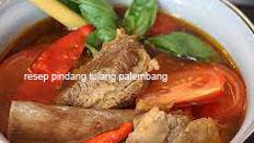 resep masakan indonesia khas palembang pindang tulang praktis, enak, sedap, gurih, nikmat, lezat