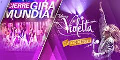 Participación en CIERRE GIRA MUNDIAL VIOLETTA EN CONCIERTO / Luna Park febrero y marzo 2014