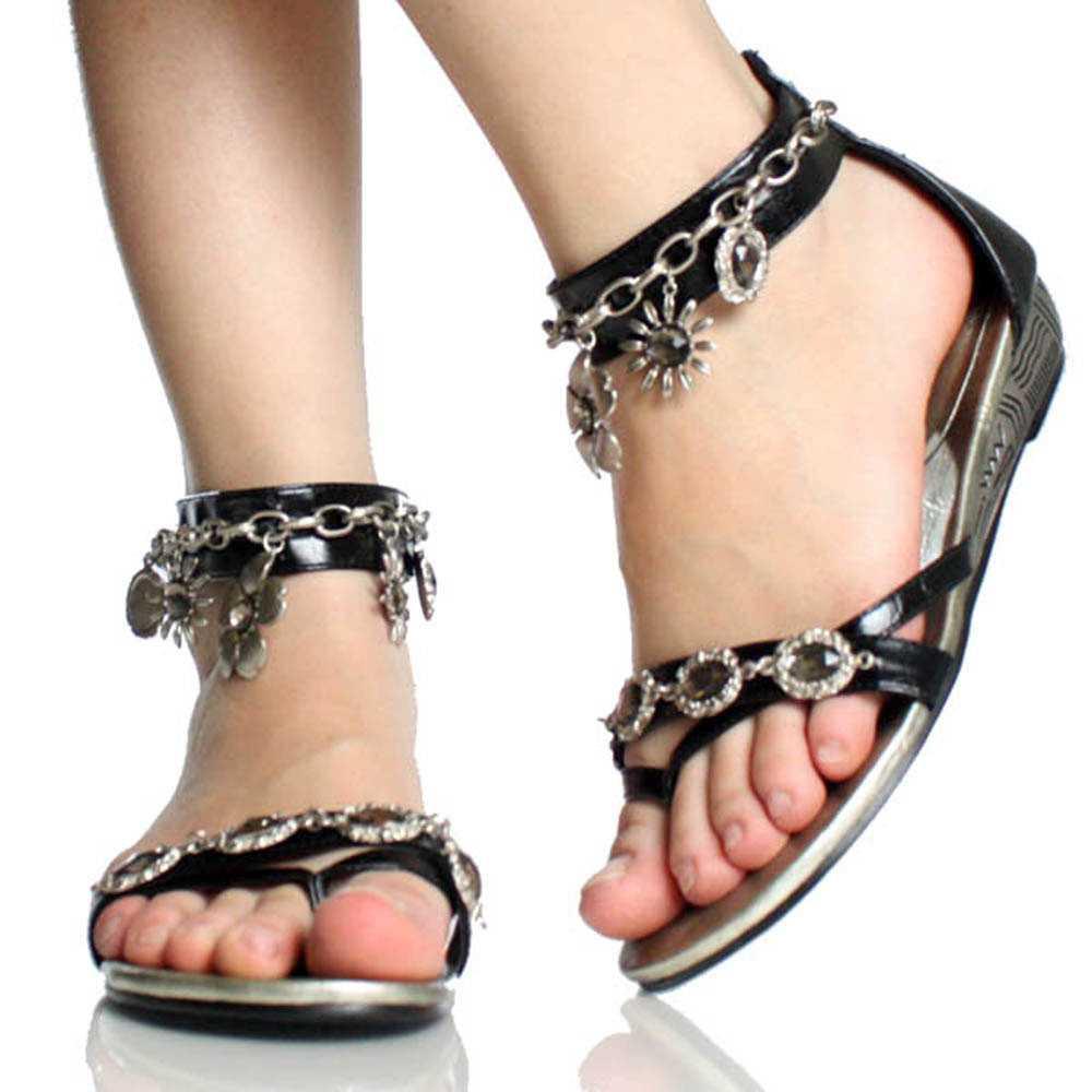 Fashion Klix: Rhinestone Ankle Bracelets For Women
