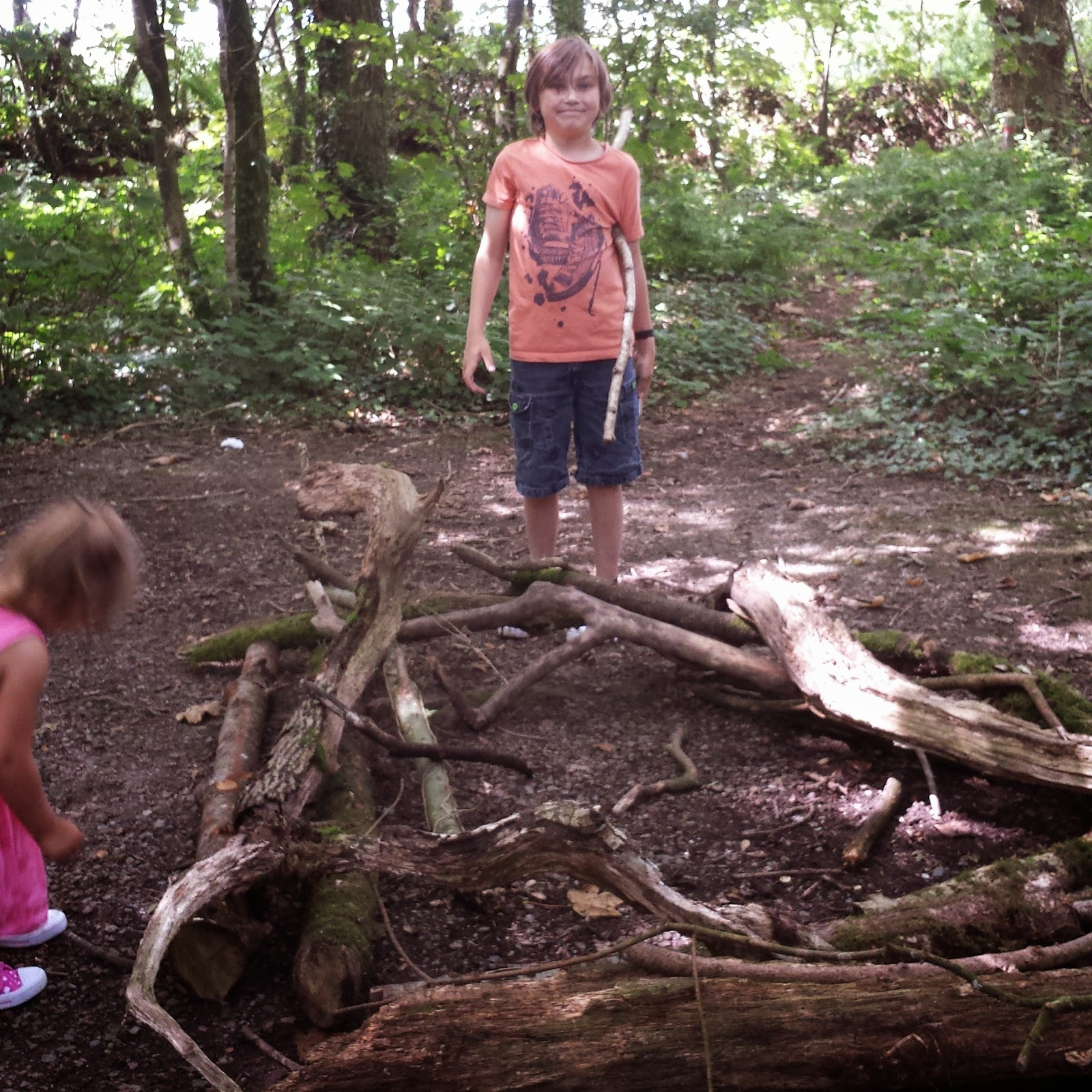 Scolton Manor Family Fun Country Kids pembrokeshire Wales Day Out Trip den