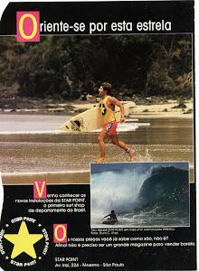 Taiu como Surfista Pro