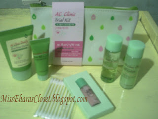 Etude House AC Clinic Trial Kit + Pouch (NEW 2013)