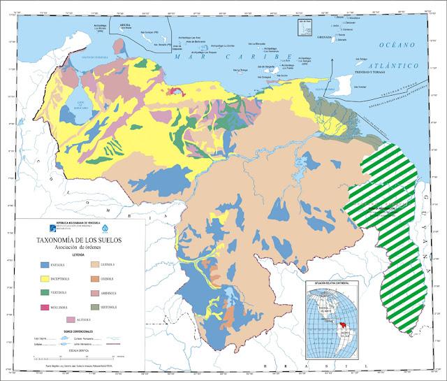 Mapa de Venezuela con los límites - Imagui