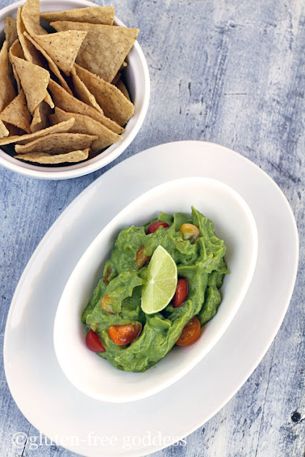 Super easy vegan guacamole. Fresh. Fast. Gluten-free.