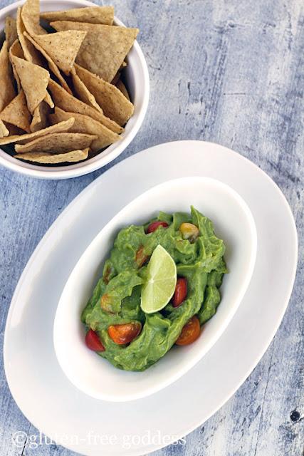 Super easy vegan guacamole. Fresh. Fast. Gluten-free.