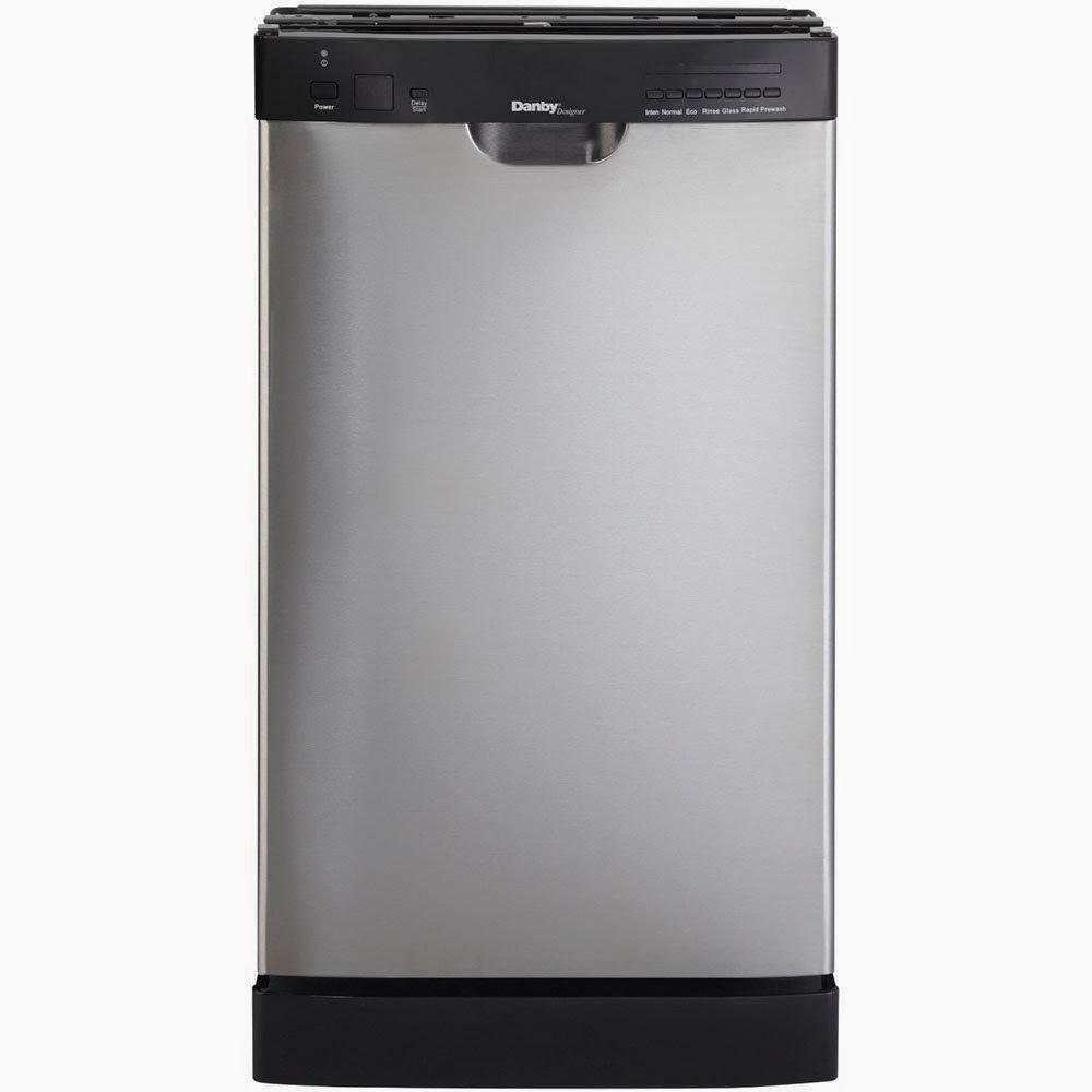 Stainless Steel Danby 18 Inch Portable Dishwasher
