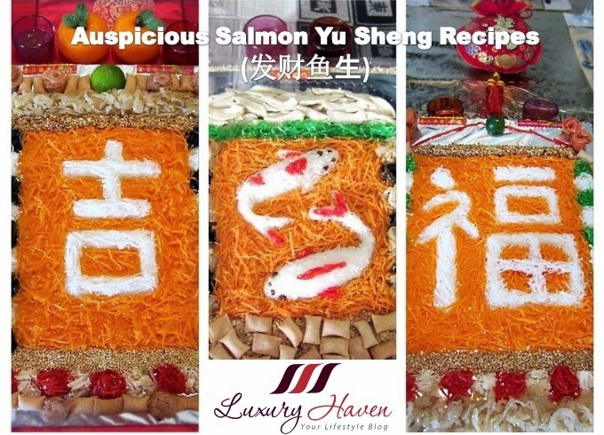 chinese new year prosperity toss yusheng recipes