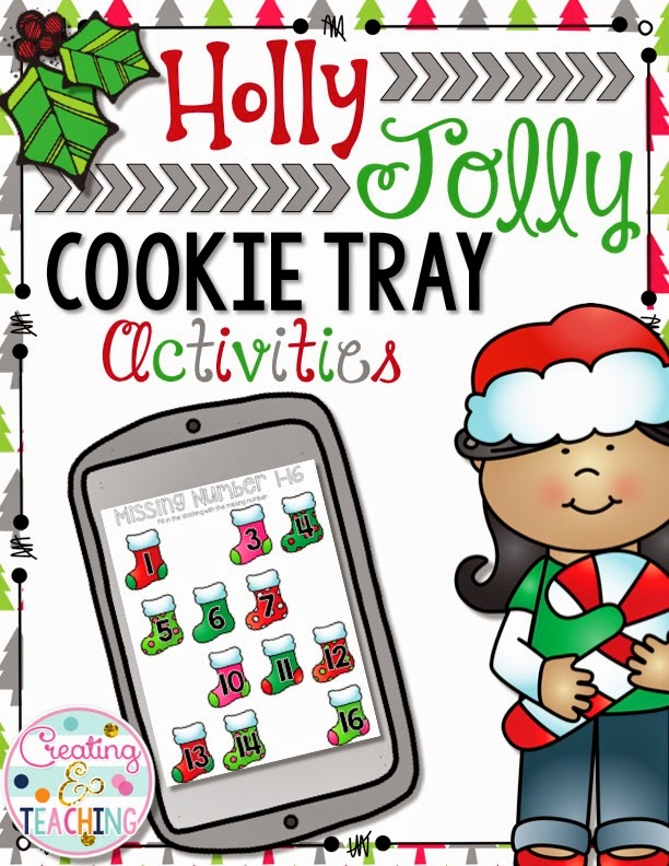 http://www.teacherspayteachers.com/Product/Holly-Jolly-Cookie-Trays-1588625