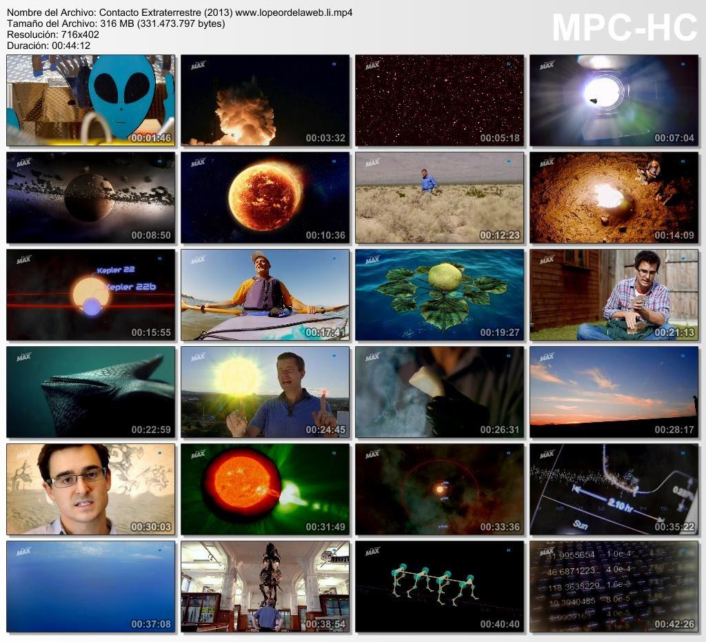 Contacto Extraterrestre (2013) Castellano