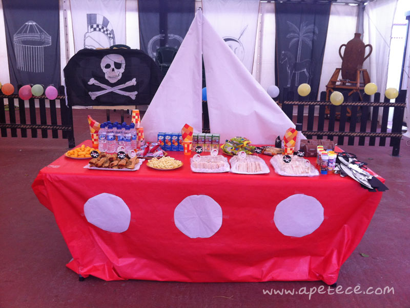 Recetas de Cocina - Apetece.com: Tarta Barco Pirata · Cumpleaños ...