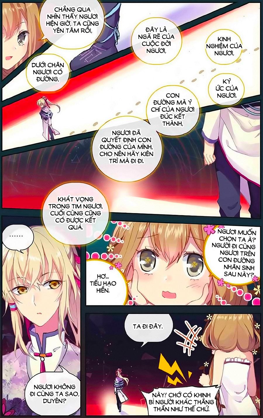 Thiên Hành Thiết Sự chap 70 Trang 4