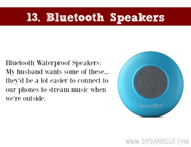 Holiday Gift Idea for Adults: Bluetooth Speakers