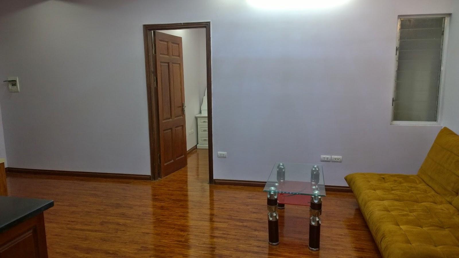 Không gian phòng khách chung cư mini Trung Văn 2