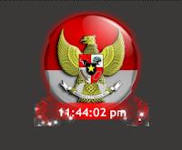 cara memasang widget jam digital indonesia pada blog