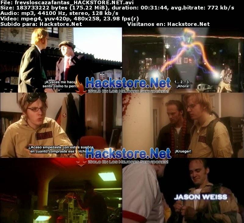 Captura Freddy Vs Los Cazafantasmas (2004) Dvdrip Sub. Español
