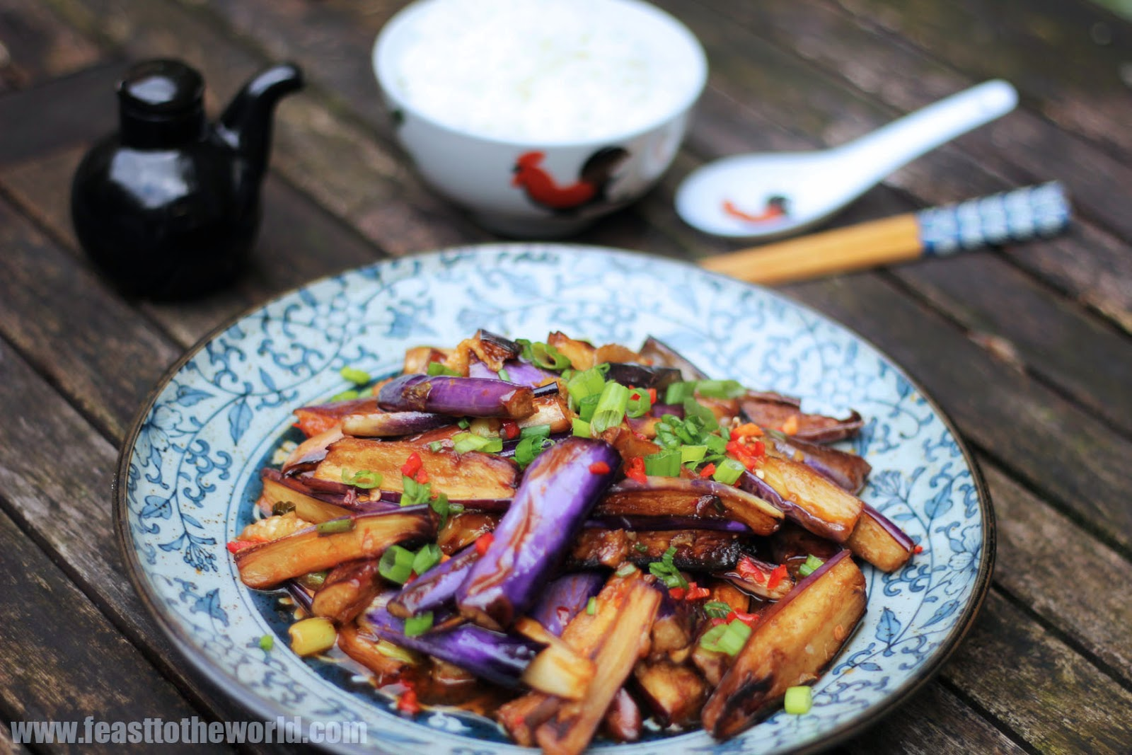 Fragrant and healthy eggplant dishes 92