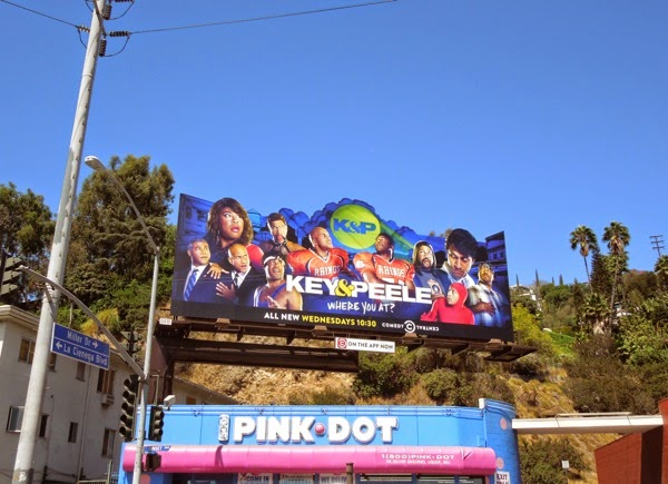 Key & Peele season 4 Comedy Central billboard