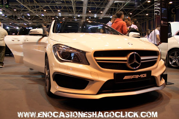 mercedes cla amg salon del automovil de madrid 2014
