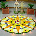 Onam Pookalam Designs,Wallpapers,Greetings (Rangoli)