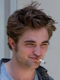 Celebrity Smoker: Robert Pattinson
