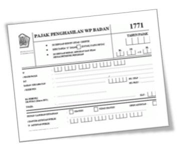 Kelengkapan penyampaian SPT Tahunan Badan 1771 tahun pajak 2012