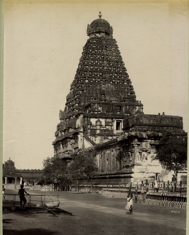 The Peruvudaiyar Kovil or Brihadeeswarar Temple