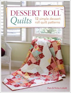 Our book Dessert Roll Quilts contains twelve exciting new quilts made ...: http://blog.modafabrics.com/2013/10/scrummy-yummy-dessert-rolls/