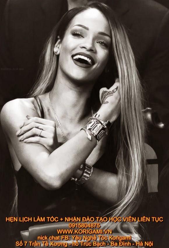 GÁI HƯ, GÁI ĐẸP, kiểu tóc cá tính, KIỂU TÓC NỮ ĐẸP, kiểu tóc độc đáo, nhuộm tóc 3d, nhuộm tóc ombre, NỮ HOÀNG LẮM CHIÊU, Rihanna,