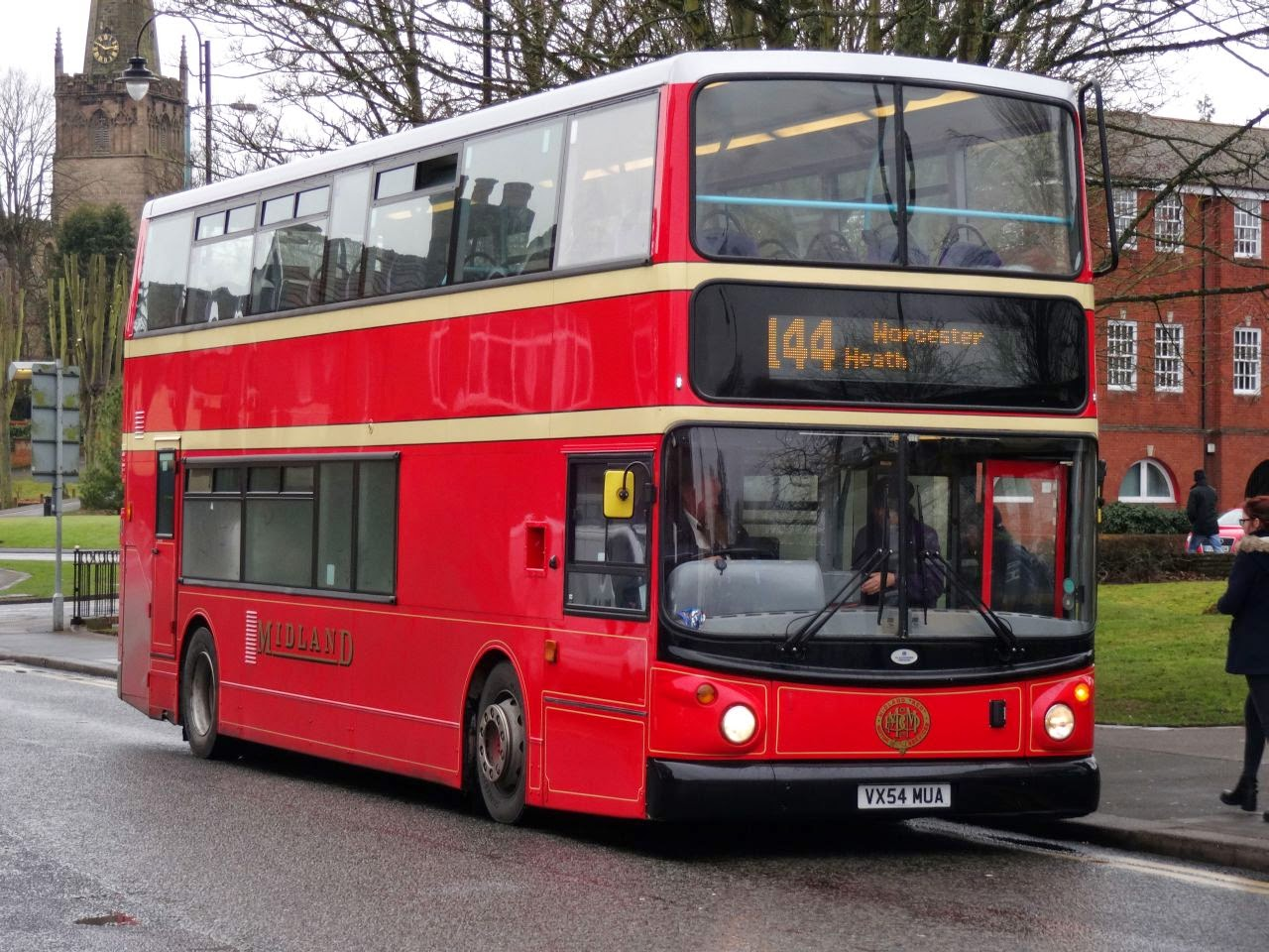 First Worcesteshire bus in Midland Red Livery