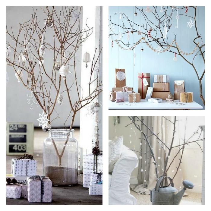 11 Arboles De Navidad Con Ramas Secas Blogs De Decoracion - Ramas-de-arboles-para-decoracion