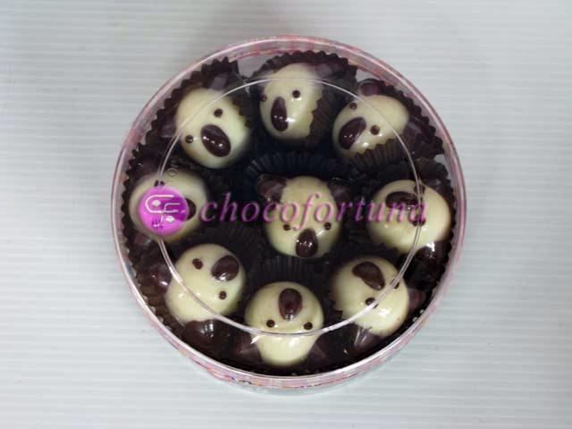 Cokelat Coklat Praline Karakter Kartun Hello Kitty Snoopy Koala Keroppi