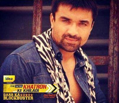 Azaj Khan in Fear Factor Khatron Ke Khiladi